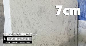 Quartzite: Super White Countertops Slabs new inventory 7cm