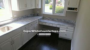 Quartzite: Super White Quartzite illinois waterfall