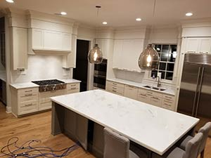 Quartzite: Super white quarzite Kitchen 3