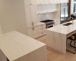 Quartzite: _waterfall superwhite quartzite